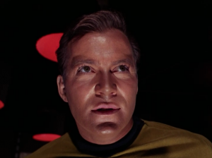 We can tell because all of a sudden the lighting is different. And he wears eye shadow.  sc 1 st  Letu0027s Watch Star Trek & TOS] The Enemy Within - Letu0027s Watch Star Trek