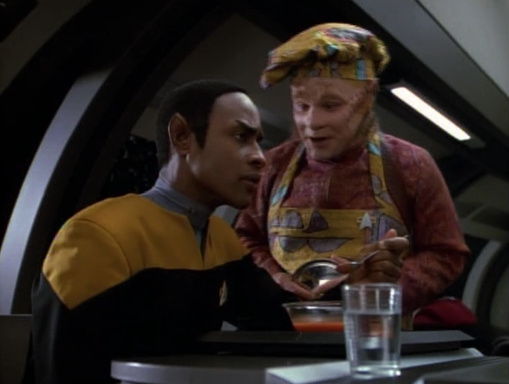 Image result for Tuvok and Neelix