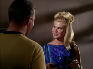"""In The Conscience of the King"""" Kirk has a little thing with a 19 year old murderer"""