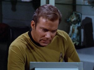 Kirk disobeys orders to go to Altair VI in order to save Spocks life