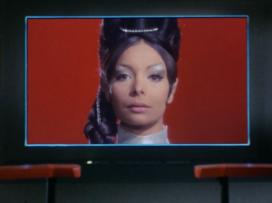 T'Pring! The person Spock was arranged to marry!