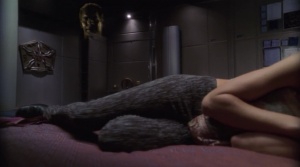 Archer talks to T'Pol from the future