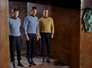 It's Spock's right to be accompanied by his best friend, and also Bones