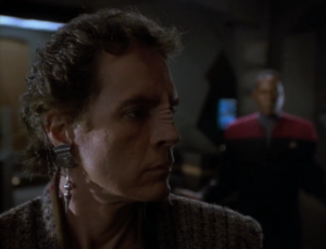 Li Nalas's reputation of heroics has been greatly exaggerated but Sisko convinces him to become a political leader for Bajor because they believe in him