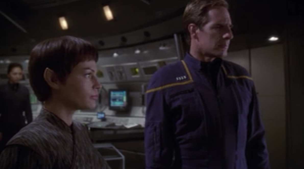 T'Pol telling off Soval was kind of cool