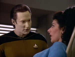 Turns out Pulaski was basically right about Data being cold rather than comforting