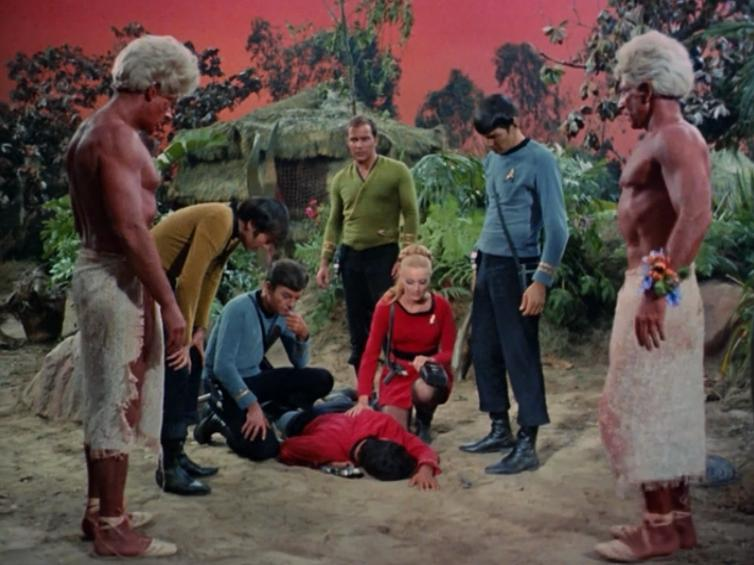 They did however still manage to kill a red shirt