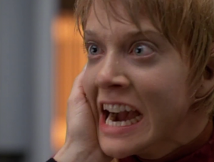 Then Janeway touches Kes' face