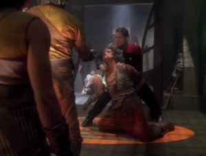 That didn't seem very well thought out on the part of the Kazon leader