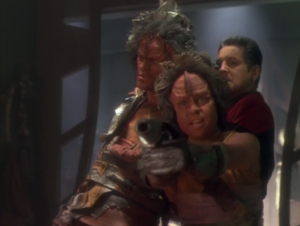 Kazon-Nog wants to escape with Chakotay