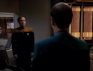 Barclay! I always had mixed feelings about him when he was on TNG but for some reason I'm really excited to see him!