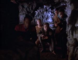 Sisko and team plan a rescue mission for Kira