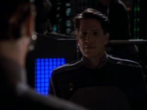 The Bajoran general seems to figure out what Sisko is doing. Sisko thinks he can be persuaded by Li Nalas
