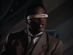 Geordi doesn't like playing with Data because he knows the outcome of all of the Holmes mysteries