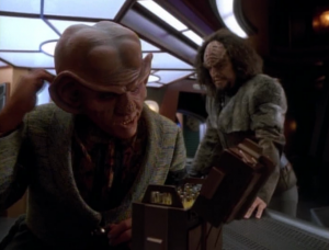 It was all because Quark made a deal. It's hard to believe Quark would do something THAT bad. Greed is one thing, but getting your friends killed?