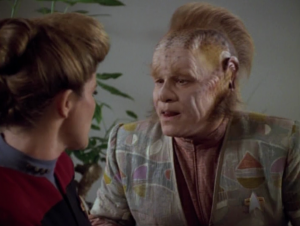 Neelix is feeling left out and underutilized. Oh great