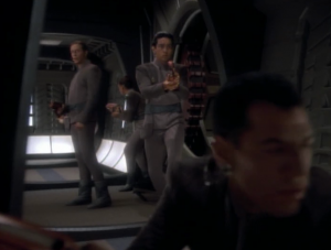 The Bajoran military takes over the station!