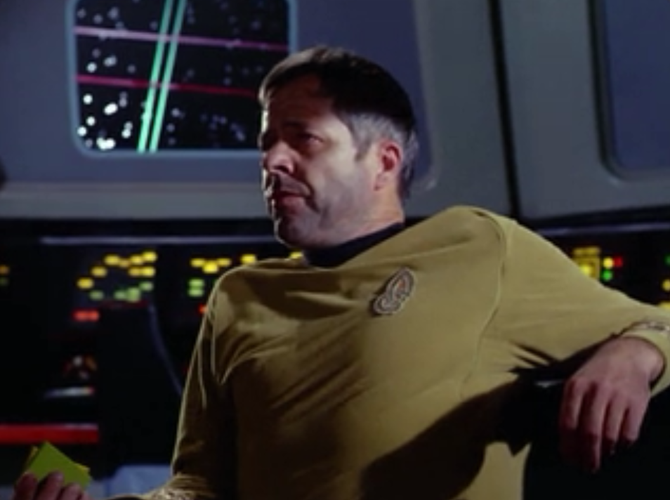 Decker takes command of Enterprise. He wants to go after that thing!