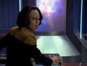 B'Elanna and Kim try a shock pulse thing, but it just makes everything worse