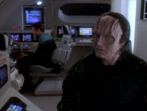 Garak and Bashir carry out an investigation. Well, Garak does anyway, and Bashir comes along