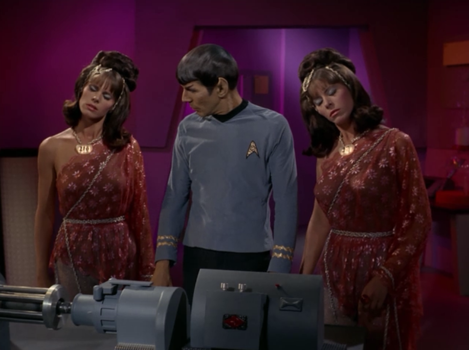 Spock turns them off much easier. He just tells them contradictory things
