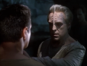 Chakotay meets what his people called sky spirits...