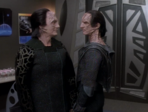 Then Garak exposes Dukat's plot! They don't like each other