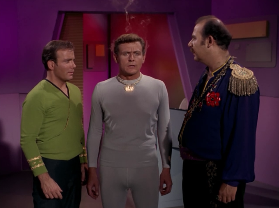 Kirk manages to talk him into shutting off