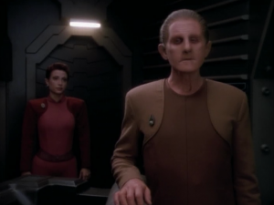 Odo doesn't like the conclusions he draws from re-examining the case