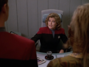 Janeways sends them on a mission together because Paris is the best pilot they've got and Neelix knows about food