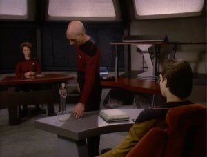 "Picard gets Data to reveal that he was ""intimate"" with Tasha Yar. That might not convince them that he's a person. It might just convince them that was really gross"