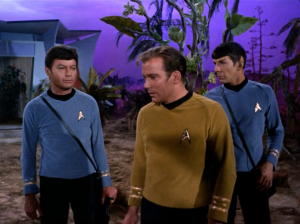 """Zefram asks Kirk to """"don't tell anyone about me"""". Yeah, alright, how about when someone wonders what happened to this lady? Are they just going to make up a story? Bones is the only one concerned about her efforts to end a war. Kirk just says that they'll find some other woman to do it."""
