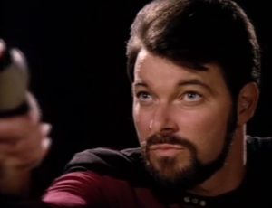 Riker wants to volunteer for an officer exchange program with a Klingon ship