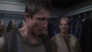 Reed forgot his communicator on a pre-warp world