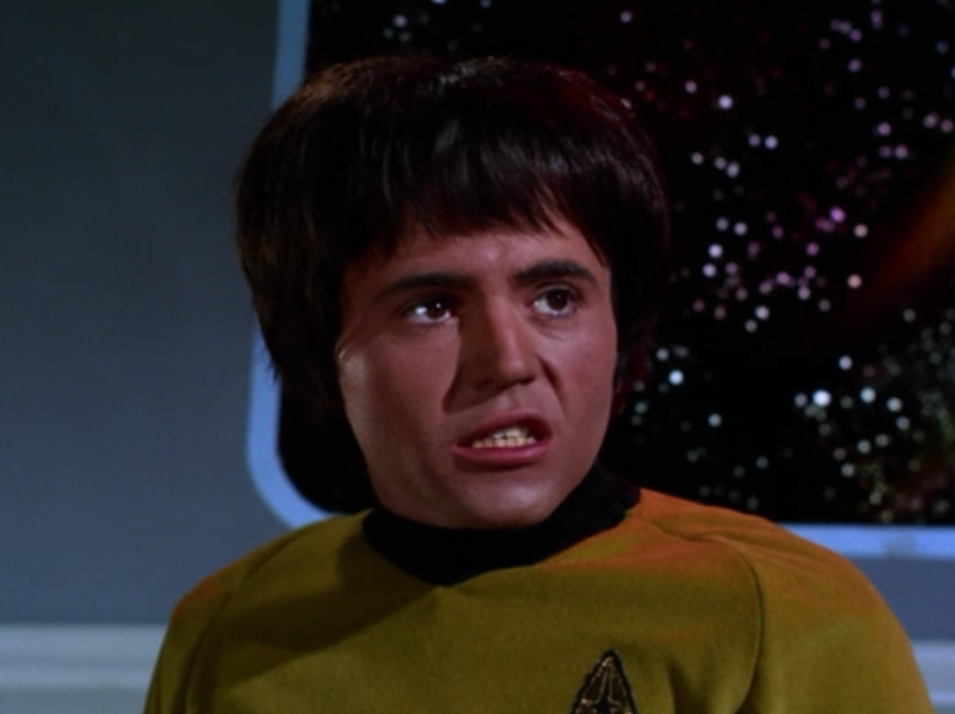I'm guessing this was one of the earlier episodes filmed with Chekov