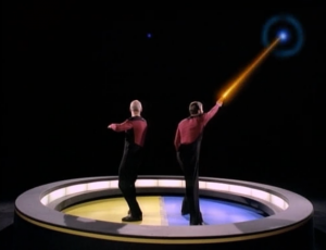 Riker and Picard play a game