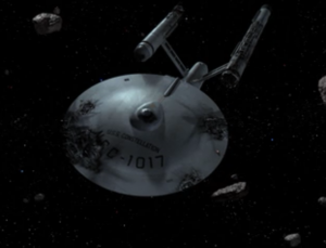 Enterprise finds a federation ship and it's in bad shape