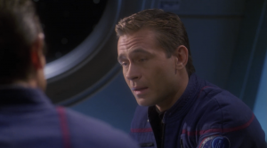 For the sub-plot they make it seem like Trip is really out of his depth as acting captain. He always seemed good at it before