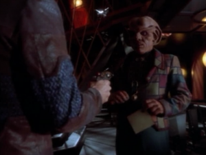 But then she also sent a guy to kill Quark once he got it