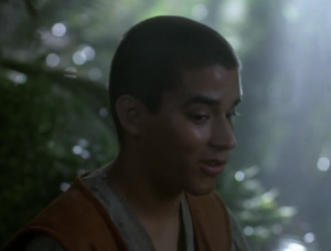 When Chakotay was young, he thought sky spirits were lame