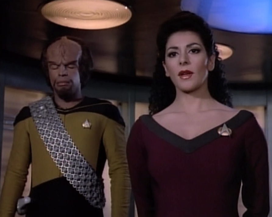 star trek tng worf and troi relationship