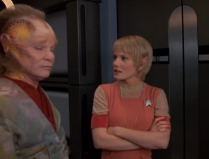 And Neelix and Kes