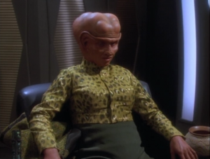One Ferengi is a female