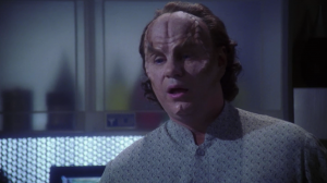 So we get to learn more about Phlox. The first thing we learn is that he has a ton of degrees