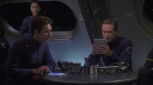 """Reed is trying to come up with a name for his alert. Trip suggests """"Reed alert"""". Oh brother"""