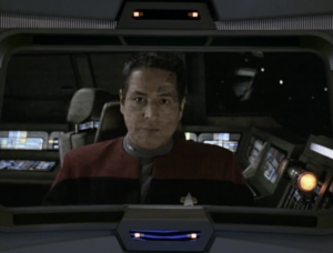 Chakotay manages to destroy the Kazons transporter capabilities. He sends a message to Voyager saying not to come after him. Did he really think that would happen?