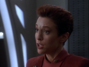 Kira doesn't support Haneek in moving to Bajor so they aren't best friends anymore
