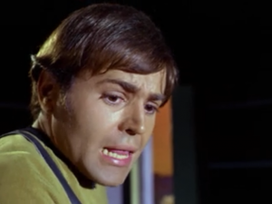 Chekov sees an old person