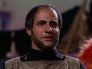A Klingon is already on the planet. The Klingons and Starfleets are competing over the support of these people because they have a really important resource