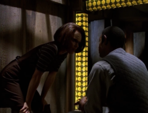 B'Elanna and Tuvok get a chance to interact. Klingons and Vulcans have very well thought out philosophies and are at complete odds with each other (live long and prosper vs. dying with honor is only one example), yet in all of Star Trek they almost never show these philosophies matched up against each other. Seems like a missed opportunity with Voyager, although they couldn't really do it since B'Elanna was made into an Klingon that doesn't care much for Klingoness
